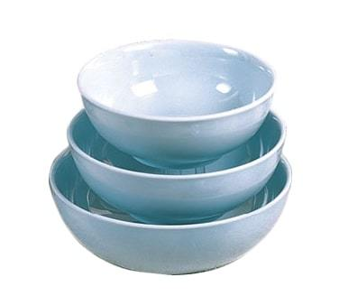 Thunder Group 5975 Blue Jade 1.3 Qt. Round Melamine Serving Bowl