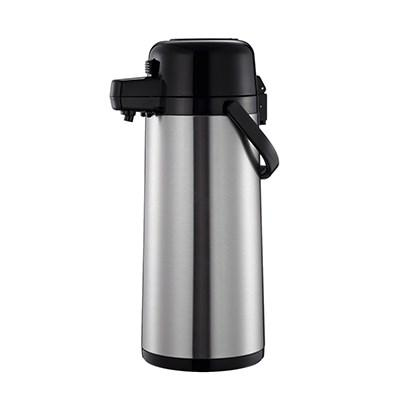 Thunder Group ASPS325 Airpot 2.5 Liter (84 Oz) Stainless Steel Lined