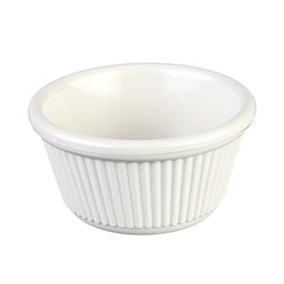 "Thunder Group ML532B1 Ramekin, 4 Oz Capacity, 3-3/8"" Dia, Round, BPA Free, NSF"