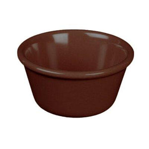 "Thunder Group ML534C1 Ramekin, 1-1/2 Oz Capacity, 2-1/2"" Dia, Round, BPA Free, NSF"