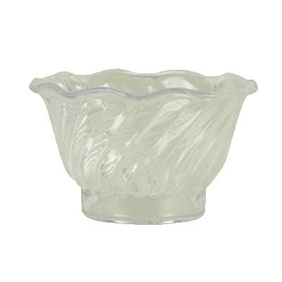 Thunder Group PLDS005C 5 Oz Dessert Dish, Clear