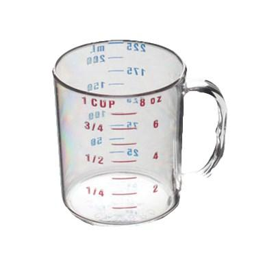 Thunder Group PLMC008CL 1 Cup/ 0.25L Polycarbonate Measuring Cup