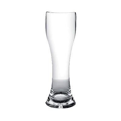 Thunder Group PLTHPS023C 23 Oz. Pilsner Glass, Starburst Base, Polycarbonate, Clear