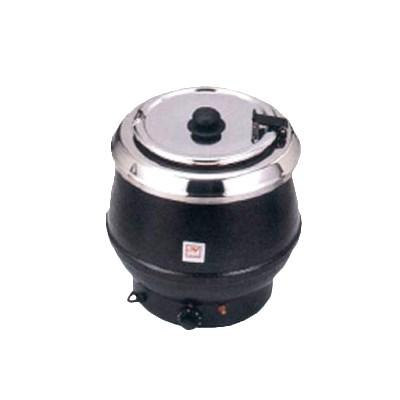 Thunder Group SEJ32000TW Soup Warmer - 10 Qt., Stainless, Brown Color