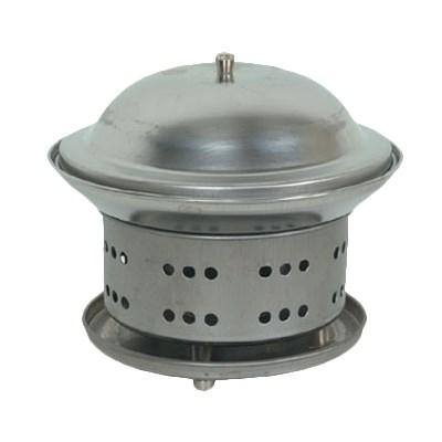 "Thunder Group SLFM001 Stainless Steel Wok Chafer, 7"" X 7-1/4"""