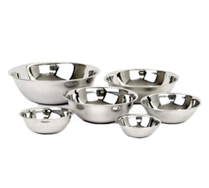Thunder SLMB201 Mixing Bowl 3/4 Qt. Capacity, Stainless Steel