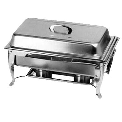 Thunder Group SLRCF005 8 Qt Chafer, Foldable Frame (2 Clip Holder Included)