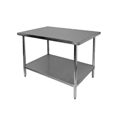 "Thunder Group SLWT42472F, Work Table 24"" x 72"" x 35"""