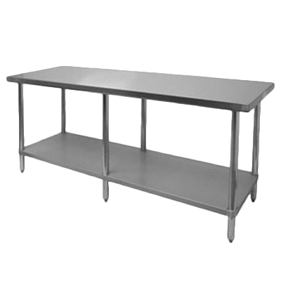 "Thunder Group SLWT42496F, Work Table 24"" x 96"" x 35"""
