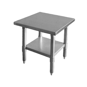 "Thunder Group SLWT43012F, Work Table 30"" x 12"" x 35"""