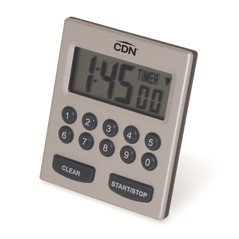 CDN TM30 Alarm Timer, direct entry, 2-alarm, 10 hours by hr/min/sec