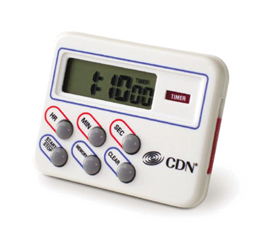 CDN TM8 Multi-Task Timer & Clock, 24 hours by hr/min/sec