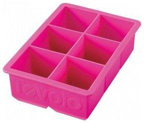 Tovolo 81-2463, King Cube Ice Tray, Fuchsia