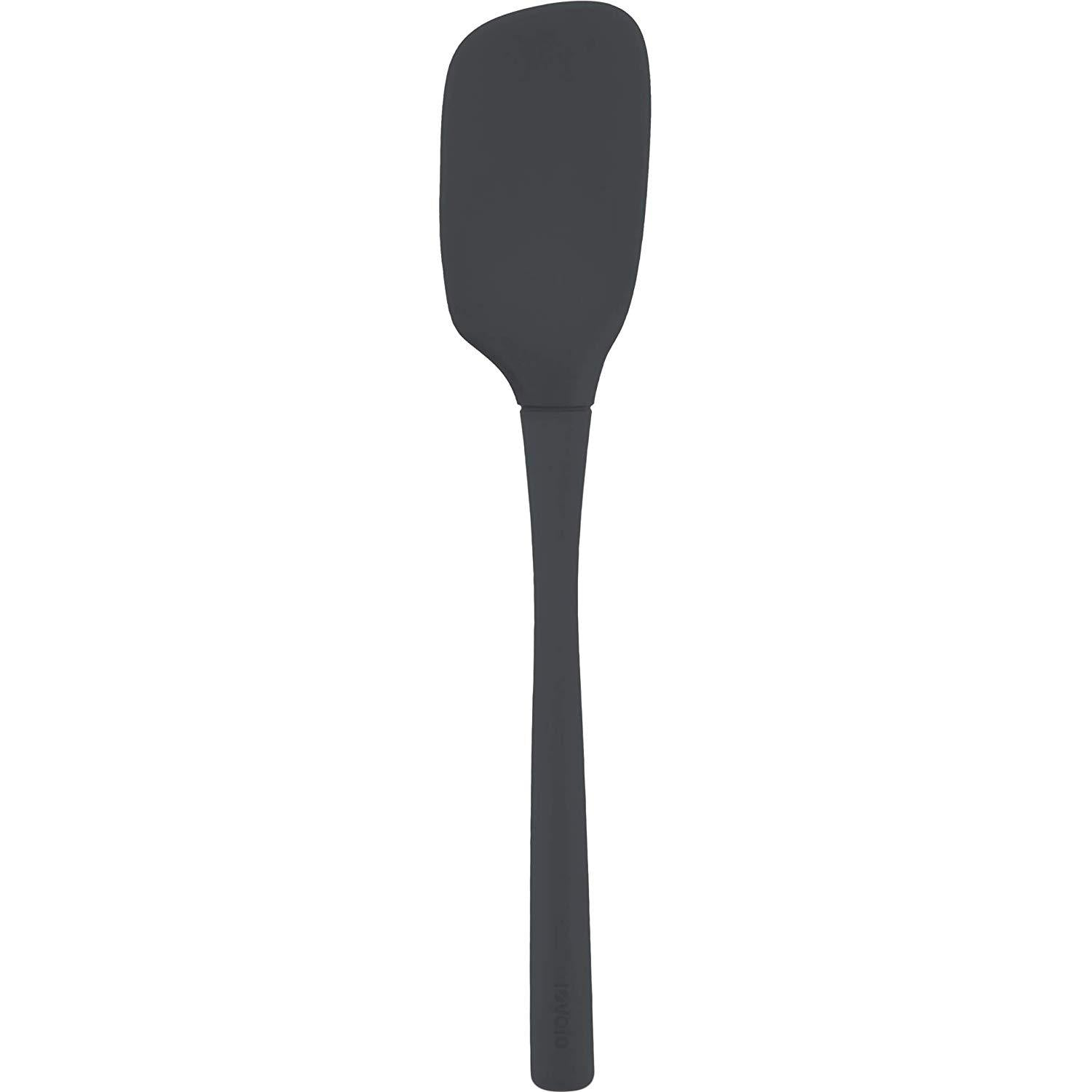Tovolo 81-16798, Flex-Core® All Silicone Spoonula, Charcoal