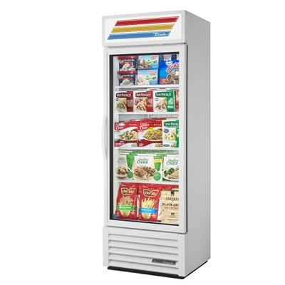 True GDM-19T-F-HC~TSL01 One-Section, Freezer Merchandiser with Four Shelves