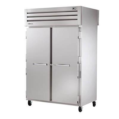 True STA2HPT-2S-2S SPEC SERIES® Pass-Thru (2) Solid Front/Solid Rear Swing Doors Heated Cabinets, 208-230v/1ph