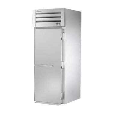 True STG1RRT-1S-1S SPEC SERIES® Roll-Thru Solid Swing Door Refrigerator, 115v