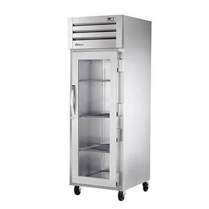 True STR1R-1G-HC SPEC SERIES® Reach-in (1) Glass Swing Door Refrigerators with Hydrocarbon Refrigerant, 115v