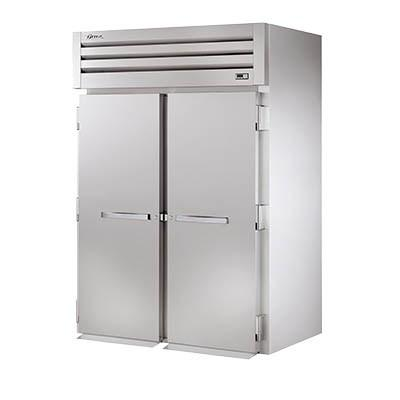 True STR2RRI-2S Two-Section Roll In Refrigerator with (2) Stainless Steel Doors