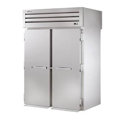 Two-Section Roll-Thru Refrigerator with (2) Stainless Steel Doors