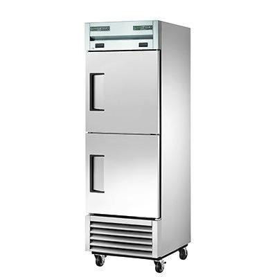One-Section Reach-in Refrigerator/Freezer with  (1) Stainless Steel Door