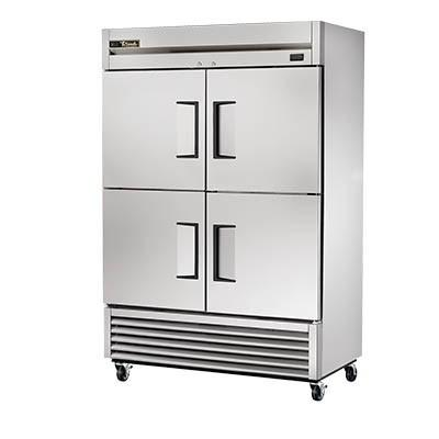 Two-Section Reach-In Freezer with (4) Stainless Steel Doors