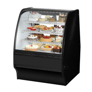 "Refrigerated Merchandiser 36-1/4""L, Curved Glass"