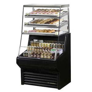 "True THAC-36DG-LD 36"" Horizontal Open Air Dry/Cooler with 6 Level, 115v"