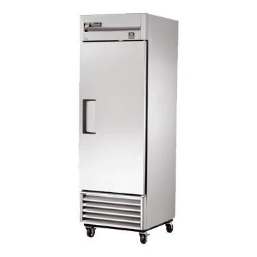 True TS-23-HC Refrigerator, Reach-in, One-Section, 1 Stainless Steel Door, Stainless Steel Front/Sides, 115v