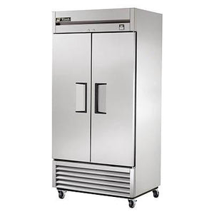 True TS-35F-HC Freezer, Reach-in, Two-Section, -10°F, 2 Stainless Steel Doors, Stainless Steel Front/Sides, 115v