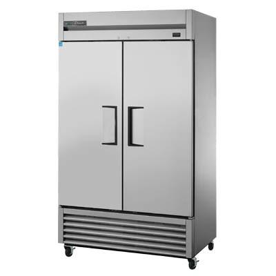 True TS-43-HC Refrigerator, Reach-in, Two-Section, 2 Stainless Steel Doors, Stainless Steel Front/Sides, 115v