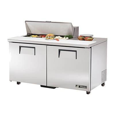 "True TSSU-60-10-ADA-HC 60"" Sandwich/Salad Prep Table with Refrigerated Base, 115v"