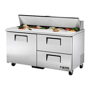 "60"" Sandwich/Salad Prep Table with Refrigerated Base, 115v"