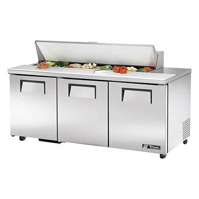 "72"" Sandwich/Salad Prep Table with Refrigerated Base, 115v"