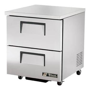 Undercounter Refrigerator with 1 Section & 2 Drawers, 115v