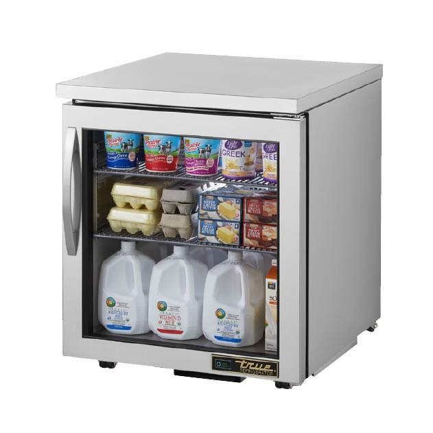 Undercounter Refrigerator with 1 Section & 1 Right Hinge Door, 115v