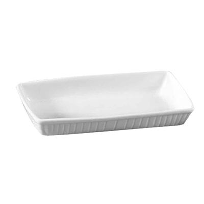"CAC China TSP-7 Catering Collection Serving Platter, 15-1/2""L x 7-3/4""W x 2-1/2""H, rectangular, 1dz Per Case"