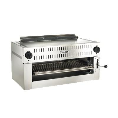 "Vulcan 36IRB-N 36"" Salamander Broiler with Heavy Duty Infrared Burner, Natural Gas"