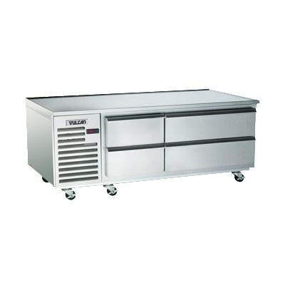 "Vulcan ARS72 72"" 4 Drawer Refrigerated Chef Base, 115v"