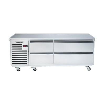 "Vulcan ARS96 96"" 6 Drawer Refrigerated Chef Base, 115v"