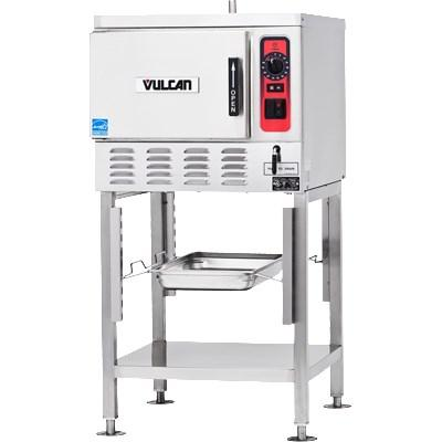 Vulcan C24EO5 5 Pan Convection Electric Steamer, Boilerless/Connectionless Countertop, 208v/3ph