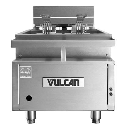 Vulcan CEF40 Electric Counter-top Fryer, 40 Lb. Capacity 17 kW, NSF