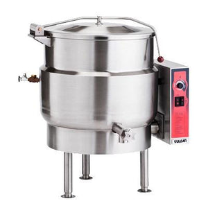 Vulcan K20EL 20 Gal Electric Steam Kettle, Stationary, 2/3 Jacket, 208v/3ph