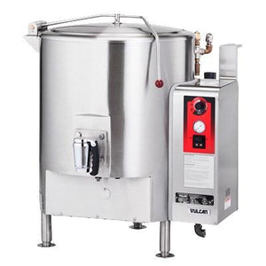 Vulcan ST100 100-Gallon Fully Jacketed Stationary Direct Steam Kettle