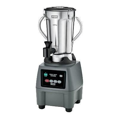 Waring CB15SF Stainless Steel Food Blender, 1 Gallon with Spigot, 3-3/4 HP, 120v/60/1-ph