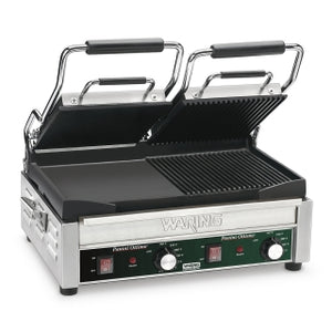Waring WDG300 Electric Double Sandwich/ Panini Grill, 240V, NSF