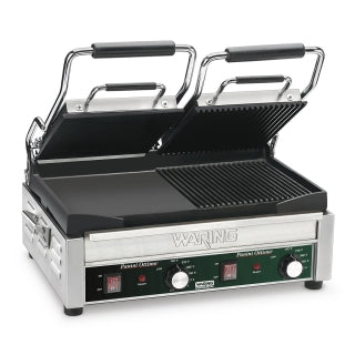 WARING WDG300 Electric Double Sandwich/ Panini Grill, 240V
