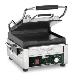 Waring WFG150 Electric Single Sandwich/ Panini Grill, 120V, NSF