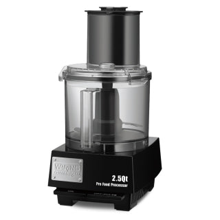 Waring WFP11S Food Processor with 2.5 Qt. Bowl - 3/4 hp