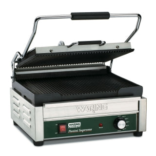 WARING WPG250 Electric Single Sandwich/ Panini Grill, 120V